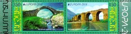 Nagorno Karabakh 2018 Europa Bridges 2v Se-tenant MNH - Sonstige