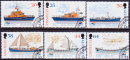 GUERNSEY 1999 SG 827-32 Compl.set Used Lifeboat Institution - Guernsey