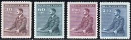 Bohemia 073/76 ** MNH. 1942 - Nuevos