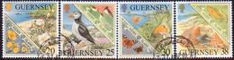 GUERNSEY 1999 SG 833-36 Compl.set Used Europa - Guernsey