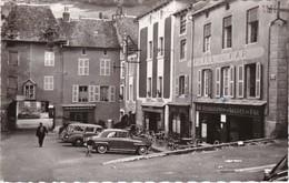CHAUDES-AIGUES - Place Du Marché - Hôtel Du Par - Hôtel De La Poste - CPSM PF Datée 1963 - Sonstige Gemeinden