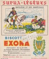 91- ESSONNES - Bicottes EXONA - Buvard ( 15 Cm X 18 Cm ) - Alimentaire