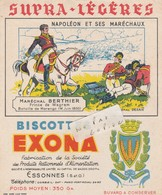 91- ESSONNES - Bicottes EXONA - Buvard ( 15 Cm X 18 Cm ) - Alimentos