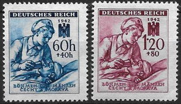 Bohemia 099/100 * Charnela. 1942 - Bohemia Y Moravia