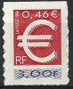 "FR YT 3215 Ou Adhesif 24 "" Le Timbre Euro "" 1999 Neuf** - Francia"