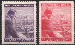 Bohemia 105/106 (*) Sin Goma. 1943 - Bohemia Y Moravia
