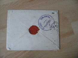 1903 Regiment Colonial Ancre Maribe  Corps Occupation Madagascar  De Majinga - Postmark Collection (Covers)