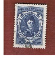 ARGENTINA - SG 1287  - 1954  SAN MARTIN   - USED ° - Argentina