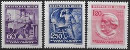 Bohemia 107/109 ** MNH. 1943 - Nuevos
