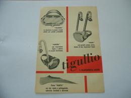PUBBLICITà ADVERTISING ATTREZZATURA SPORTIVA SUB TIGULLIO S.MARGHERITA LIGURE. - Autres