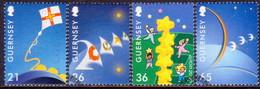 GUERNSEY 2000 SG 863-66 Compl.set Used Europa - Guernsey