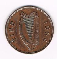 =&   IERLAND  1 PENNY  1964 - Irlande