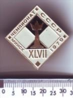 Schaken Schach Chess Ajedrez échecs - Minsk 1979 - Spelletjes