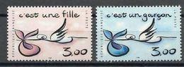 "FR YT 3231 & 3232 "" Timbre Naissance "" 1999 Neuf** - France"
