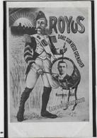 Royus Dans Son Vieux Grenadier - Cabaret