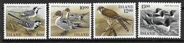 Islande 1986 N° 597/600 Neufs Oiseaux - 1944-... Republique