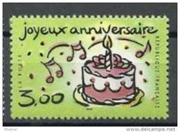 """FR YT 3242 """" Timbre Joyeux Anniversaire """" 1999 Neuf** - France"""