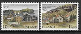 Islande 1986 N° 603/604 Neufs Norden Villes Jumelées - Nuovi