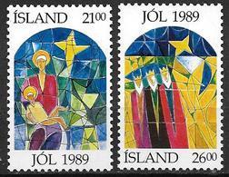 Islande 1989 N° 665/666 Neufs Noël - Nuovi