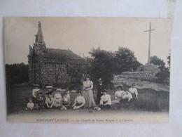 Roocourt La Cote . La Chapelle De Sainte Bologne Et Le Calvaire - France