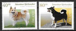 Islande 2001 N°912/913 Neufs** Chiens - 1944-... Repubblica