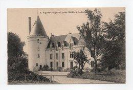 - CPA AIGUES-JOIGNANT, Près Bélâbre (36) - Château - N° 1 - - France