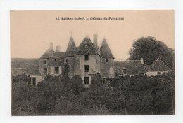 - CPA BELABRE (36) - Château De Puyrajoux - N° 10 - - France