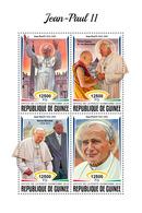 GUINEA 2018 - John-Paul II, Dalai Lama. Official Issue - Buddhism