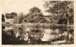 CHATLLON EN BAZOIS - 58 - La Canal Du Nivernais à Mingot - 77563 - Chatillon En Bazois
