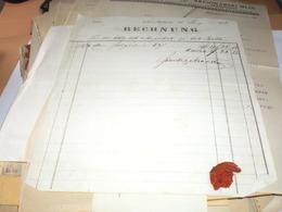 Rechnung Neu Becse Torok Becse Novi Becej 1853 - Invoices & Commercial Documents