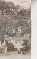 LOT 3 C¨PA CHATEAU DE SALBAN   PRES SAINTE LIVRADE  LES VENDANGEURS  Avec 2 CARTES PHOTOS( PROPRIETAIRES DU CHATEAU - Autres Communes