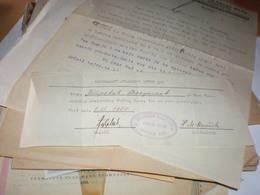 Novi Sad Ujvidek Novosadski Akademski Muski Hor  1934 - Invoices & Commercial Documents