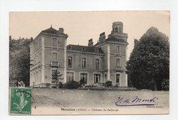 - CPA MEAULNE (03) - Château De Bellevue 1909 - Edition Alamy - - Francia
