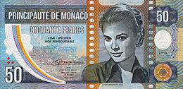 Monaco Spécimen 50 Francs 2018 Polymer  Emission Privée Limitée UNC - Mónaco