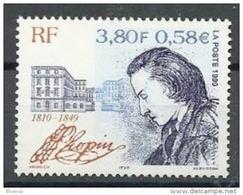 """FR YT 3287 """" Frédéric Chopin """" 1999 Neuf** - France"""