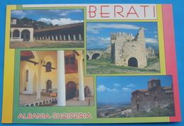"""Albania BERAT (BELGRAD) """"VIEWS OF CHURCHES AND CASTLES"""", Communist Period UNUSED. RARE - Albanie"""