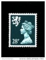 GREAT BRITAIN - 1991  SCOTLAND  28 P.  MINT NH   SG  S75 - Regionali