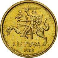 Monnaie, Lithuania, 10 Centu, 1998, TTB, Nickel-brass, KM:106 - Lithuania