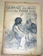 GIORNALE ILLUSTRATO DEI VIAGGI N. 483 - 1905   I MASSAI SUL SENTIERO DI GUERRA - Libri, Riviste, Fumetti