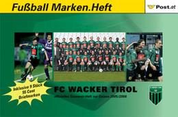 AUSTRIA / ÖSTERREICH, 2006, Booklet / Markenheftchen C, FC WACKER TIROL - Austria