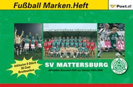 AUSTRIA / ÖSTERREICH, 2006, Booklet / Markenheftchen D, SV Mattersburg - Austria