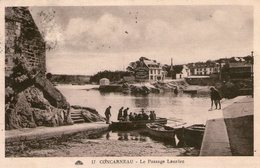 29-concarneau-le Passage Lanriec - Concarneau