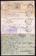 11 X CPA   STE ADRESSE 1916 / 1918  > CHARTRES D'UN MILITAIRE BELGE M.G.I. LEON BAGEIN à SA FIANCE ALINE DELFOSSE - S.M. - 1914-18