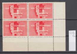 40K558 / 1948 Foire Internationale Bruxelles 17 - 29 Avril  , CINDERELLA LABEL VIGNETTE , Belgique Belgium Belgien - Commemorative Labels