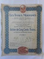 Les TISSUS MODERNES  CALAIS    Rue Cosmora   PAS De CALAIS - Textile