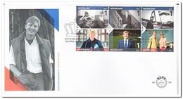 Nederland 2017, FDC 750, King Willem-Alexander - FDC