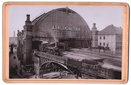 Fotografie Römmler & Jonas, Dresden, Ansicht Berlin, Bahnhof Friedrichstrasse - Plaatsen