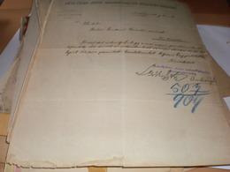 Antalfalva Kovacica  Torontal  Takarekpenztar 1908 - Invoices & Commercial Documents