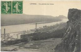 07. LAFARGE.   VUE GENERALE DES USINES - France