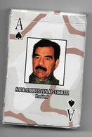 Irak: Jeu De Cartes: Saddam Hussen Et Autres - 54 Cartes